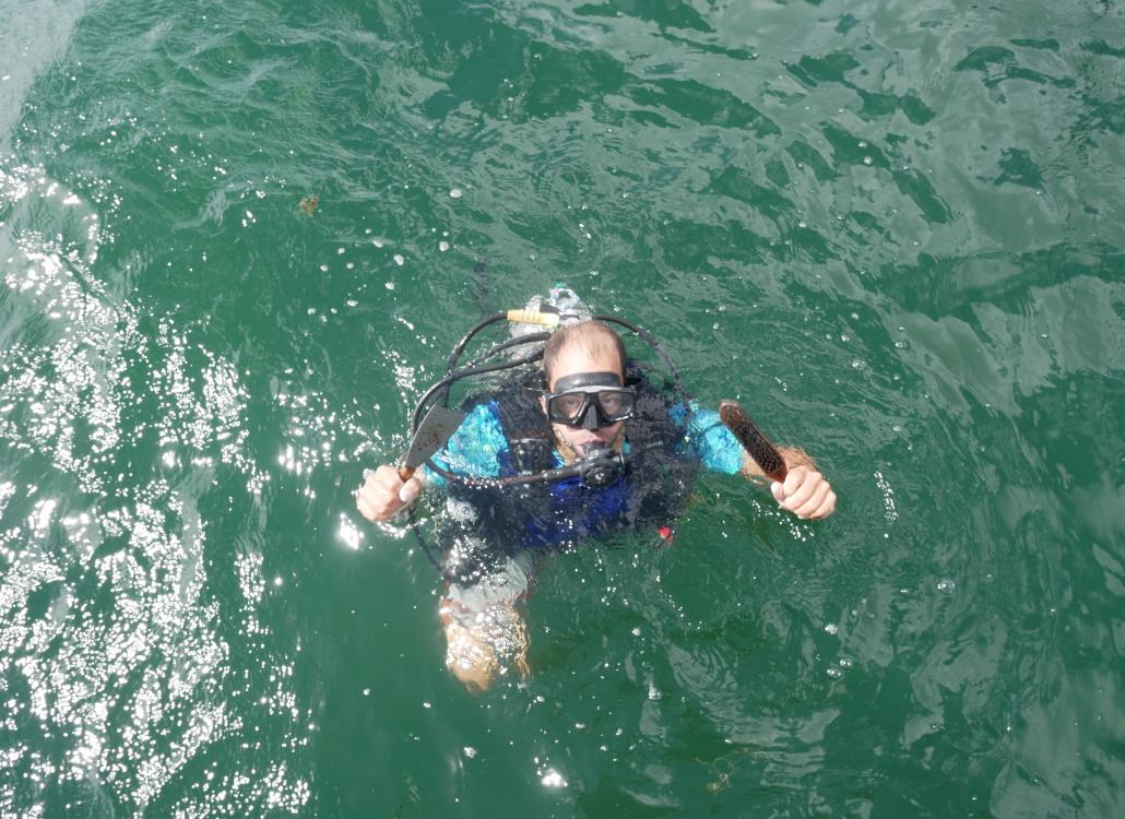 propeller-frei-machen-von-muscheln-und-algen